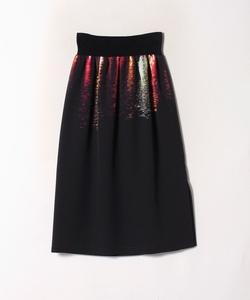 NR52 JUPE フォトプリントスカート