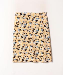 IBS4 JUPE フラワープリントスカート
