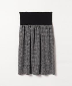 JM57 JUPE フラワープリントスカート