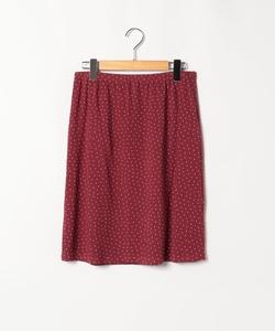 JDF9 JUPE ドットプリントスカート