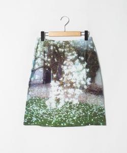 NO87 JUPE フォトプリントスカート