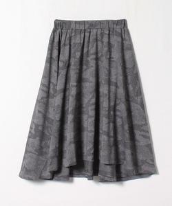 QJ0Y JUPE SPORT b. カモフラージュ柄スカート
