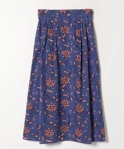 IBZ8 JUPE フラワープリントスカート