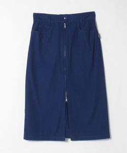 UP46 JUPE ロングジップスカート