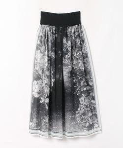 NS94 JUPE フォトプリントスカート