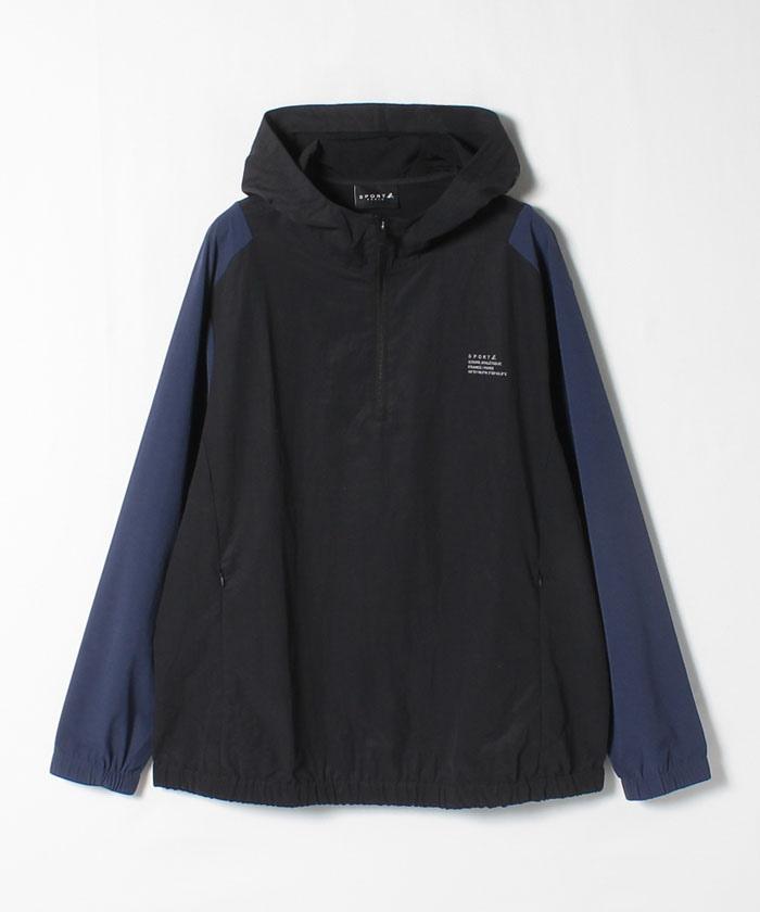 QT63 COAT SPORT b. ナイロンアノラックジャケット