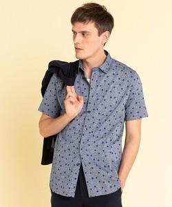 JEF3 CHEMISE フラワープリントシャツ