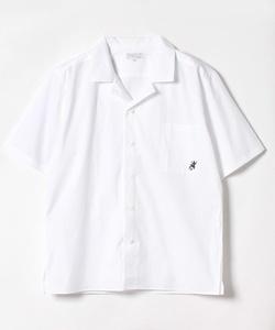 U892 CHEMISE 半袖レザール刺繍シャツ