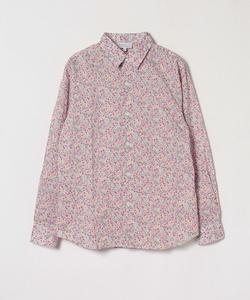 IU23 CHEMISE リバティプリントシャツ