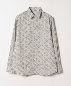 IBU6 CHEMISE フラワープリントシャツ