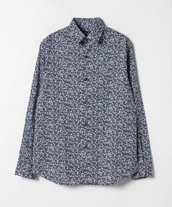 IBU8 CHEMISE フラワープリントシャツ