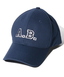 BZ11 CASQUETTE A.B. ロゴキャップ