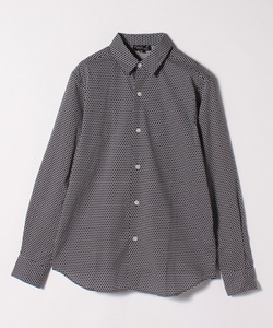 IBZ2 CHEMISE ジオメトリックプリントシャツ