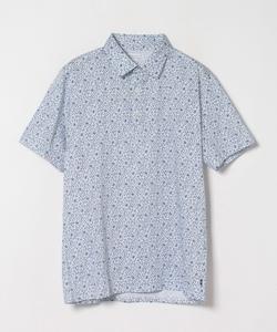 JFI1 POLO フラワープリントポロシャツ