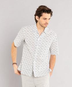 IBY8 CHEMISE ジオメトリックシャツ