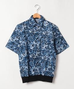 IE89 CHEMISE ローズプリントシャツ
