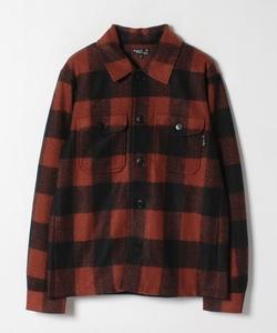 JFX9 VESTE ブロックチェックシャツジャケット