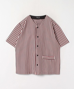 JDI5 CHEMISE ストライプベースボールシャツ