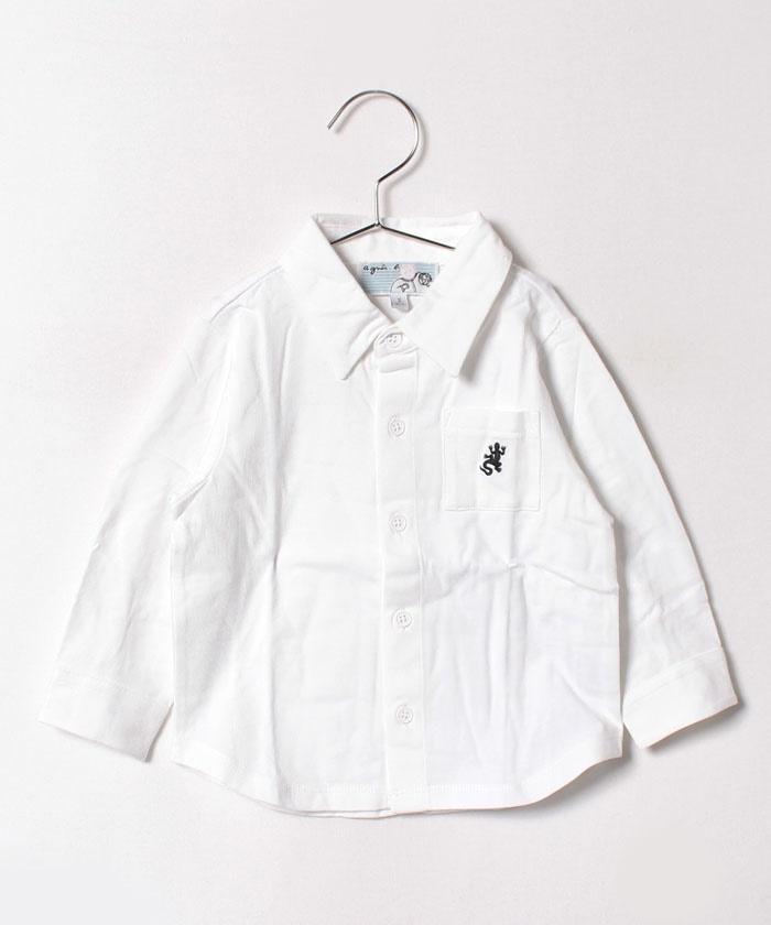 J000 L CHEMISE レザール刺繍シャツ