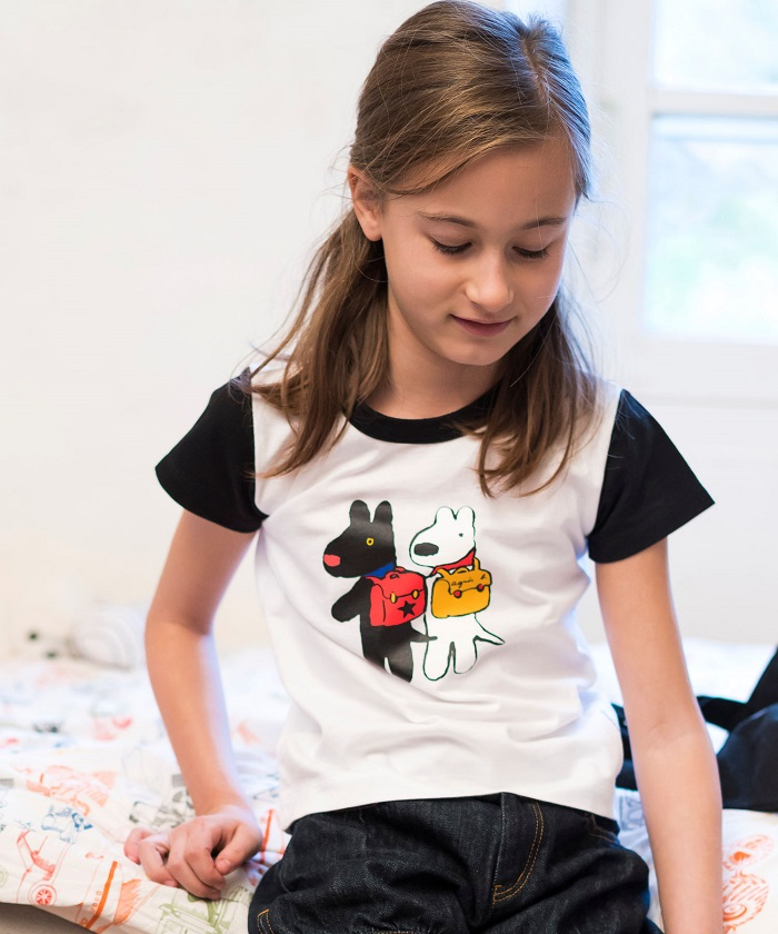 SBM4 E TS Gaspard et Lisa Tシャツ
