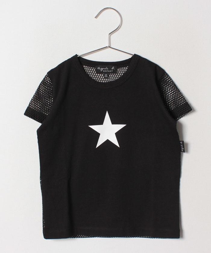 ST69 E TS エトワールメッシュTシャツ
