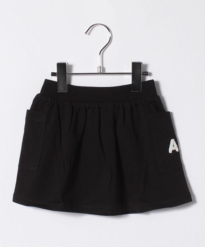 K294 L JUPE ベビー AB. ロゴスカート