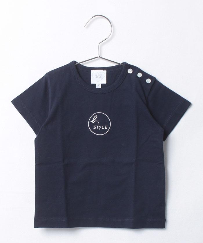 S361 L TS ベビー b. STYLE ロゴTシャツ