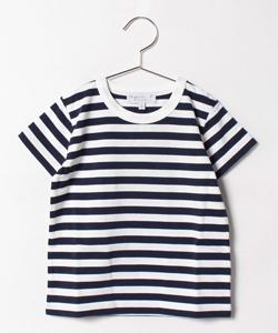 J008 E TS ボーダーTシャツ