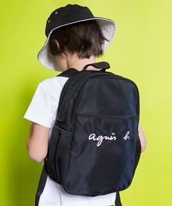 GL11 E BAG ロゴ刺繍リュックサック