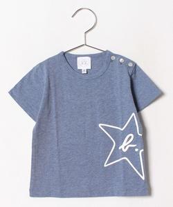 SBM8 L TS エトワール& b. プリントTシャツ