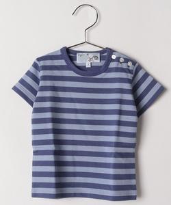 J008 L TS ボーダーTシャツ