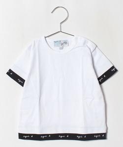 SCJ1 L TS ベビー ロゴテープTシャツ