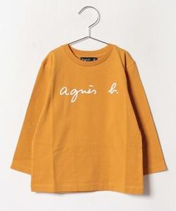 S137 E TS キッズ ロゴTシャツ