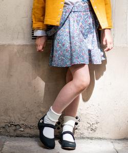 IBU2 E JUPE キッズ リバティジャンパースカート