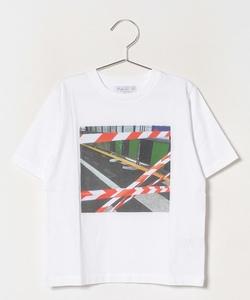 NR62 E TS キッズ フォトプリントTシャツ