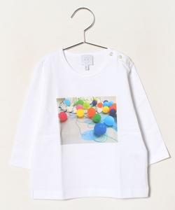 NR99 L TS ベビー フォトプリントTシャツ