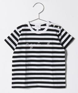 SCM5 L TS ベビー ボーダーTシャツ