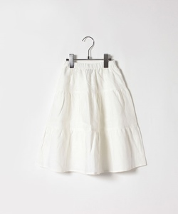 UAW6 キッズ ティアード スカート