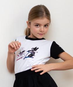SCQ6 E TS キッズ Gaspard et Lisa Tシャツ