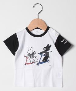 SCQ6 L TS ベビー Gaspard et Lisa Tシャツ