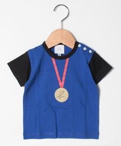 SCQ8 L TS ベビー トロンプルイユTシャツ