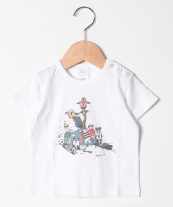 SCQ9 L TS ベビー ペンギンイラストTシャツ