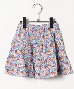 JDA2 E JUPE キッズ リバティプリントスカート