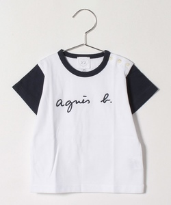 SCY1 L TS ベビー ロゴTシャツ