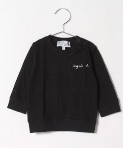 S179 L SWEAT ベビー ロゴTシャツ