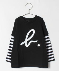 SCY0 E TS キッズ b.ロゴTシャツ
