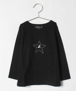 SCW7 E TS キッズ エトワールモチーフTシャツ