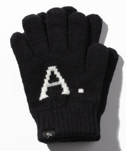 AB38 E GANTS キッズ A.B.ロゴ手袋