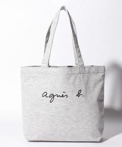 GL11 E BAG ロゴ刺繍トートバッグ