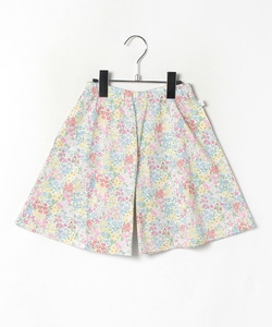 JGN9 E JUPE CULOTTE キッズ リバティプリントキュロット